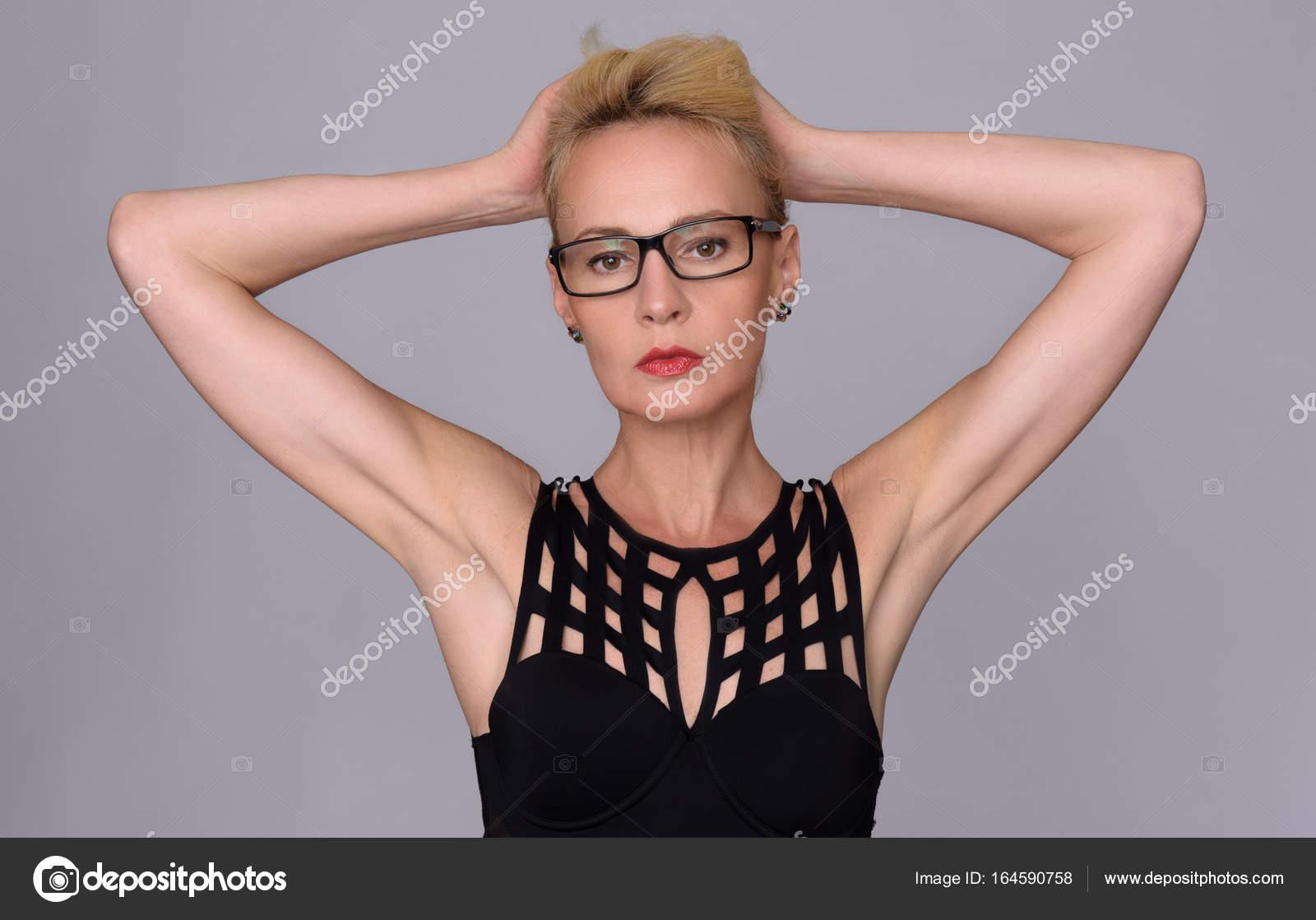 Brillen für reife Frauen