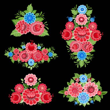 decorative floral ornaments