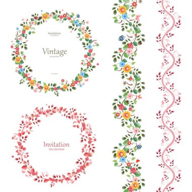 romantic floral collection