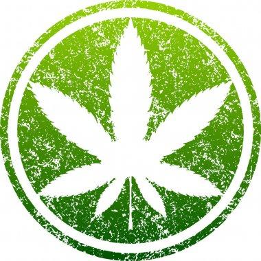 marijuana green leaf