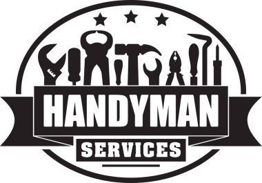 Handyman services  solid gubber stamp