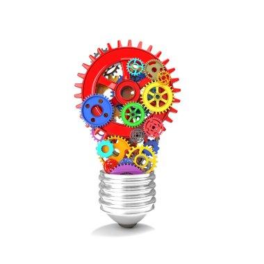 3d gear bulb