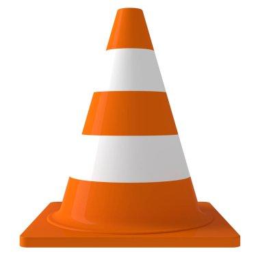 Traffic cone 3d