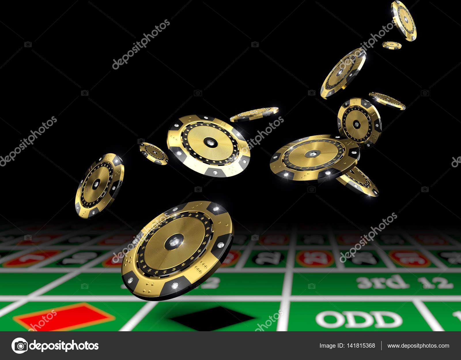 Golden Vip Casino Chips Stock Photo C Jukai5 141815368