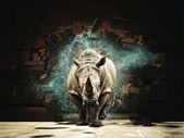 Photo powerfull as rhino