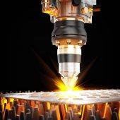 Fotografia macchina di taglio laser