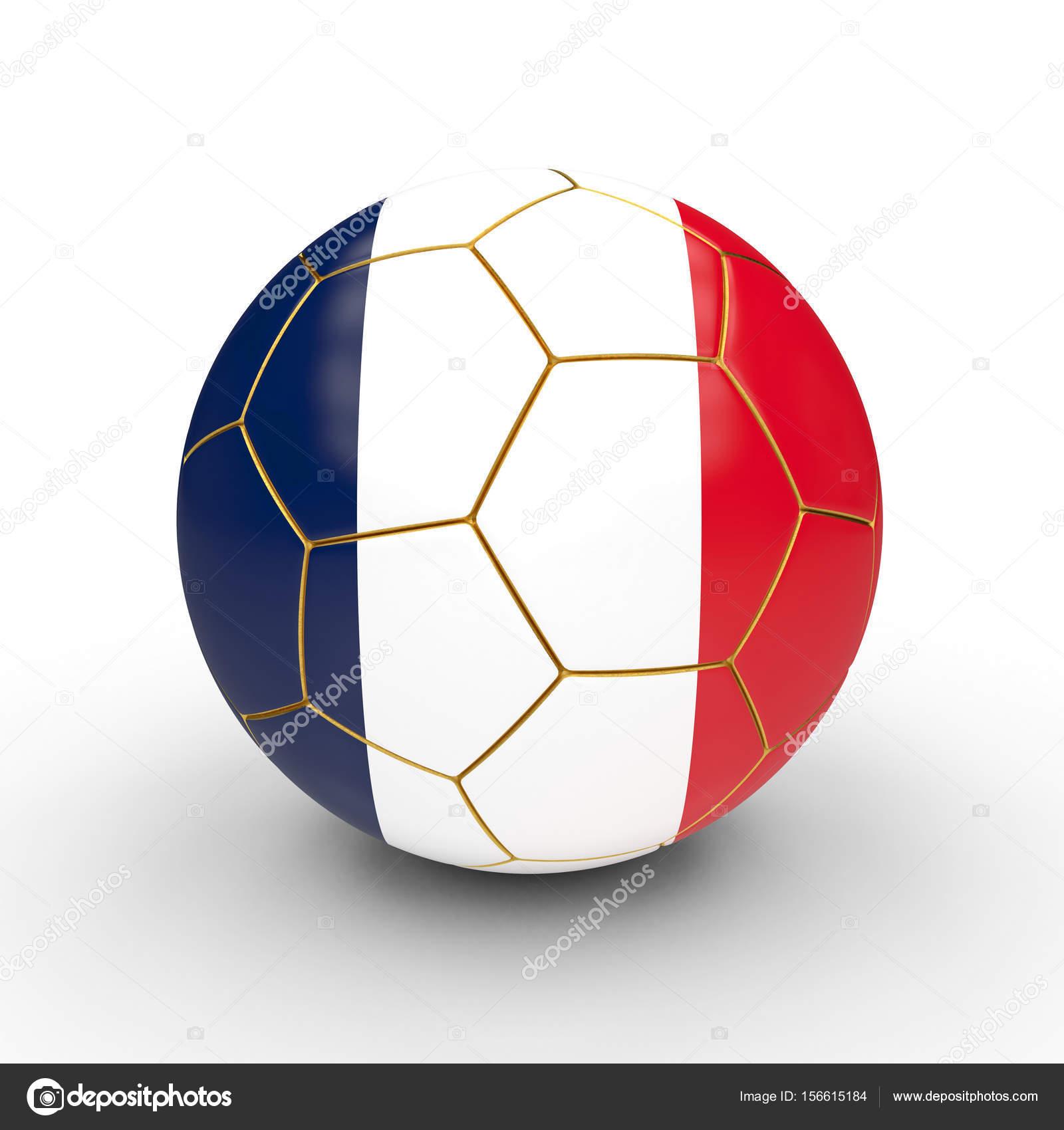 Мяч футбольный Франции флаг 3d рендеринга изображения — Фото автора jukai5 db368fd4fa0