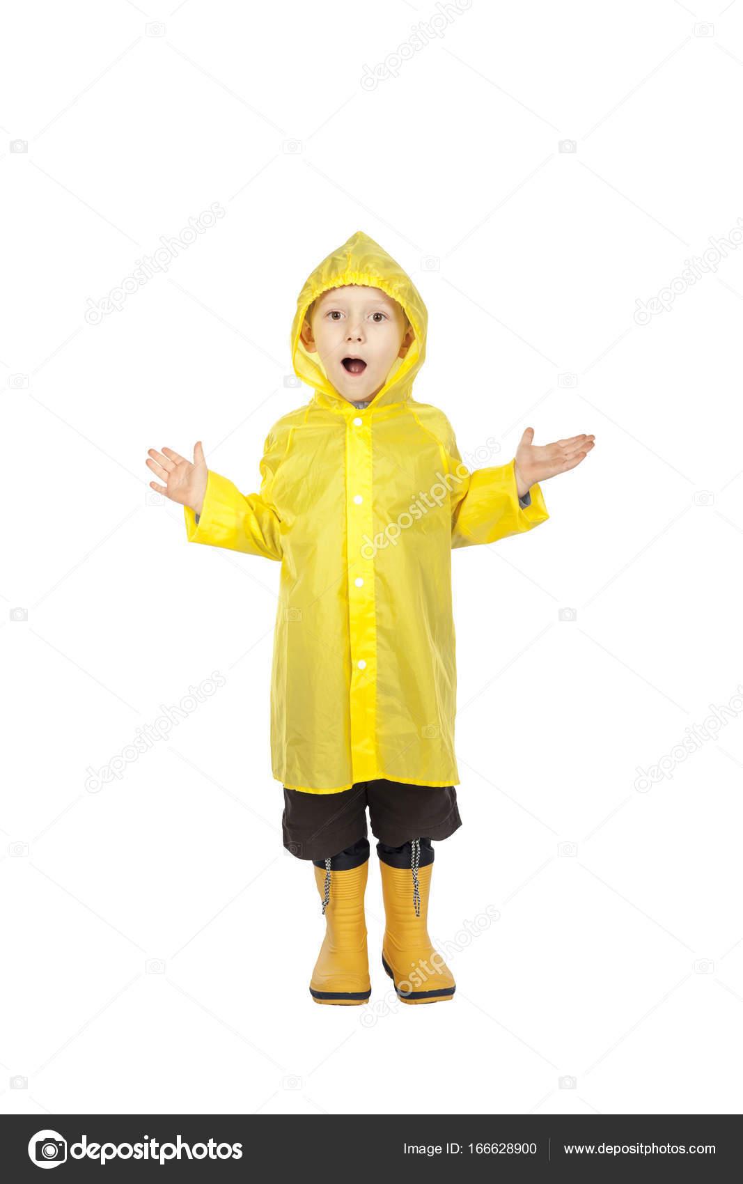 8c858eca8 child with raincoat — Stock Photo © jukai5  166628900