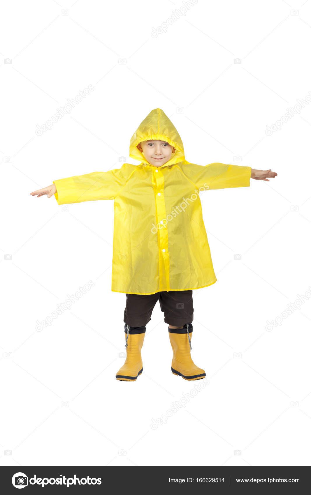 3b7e41e75 child with raincoat — Stock Photo © jukai5  166629514