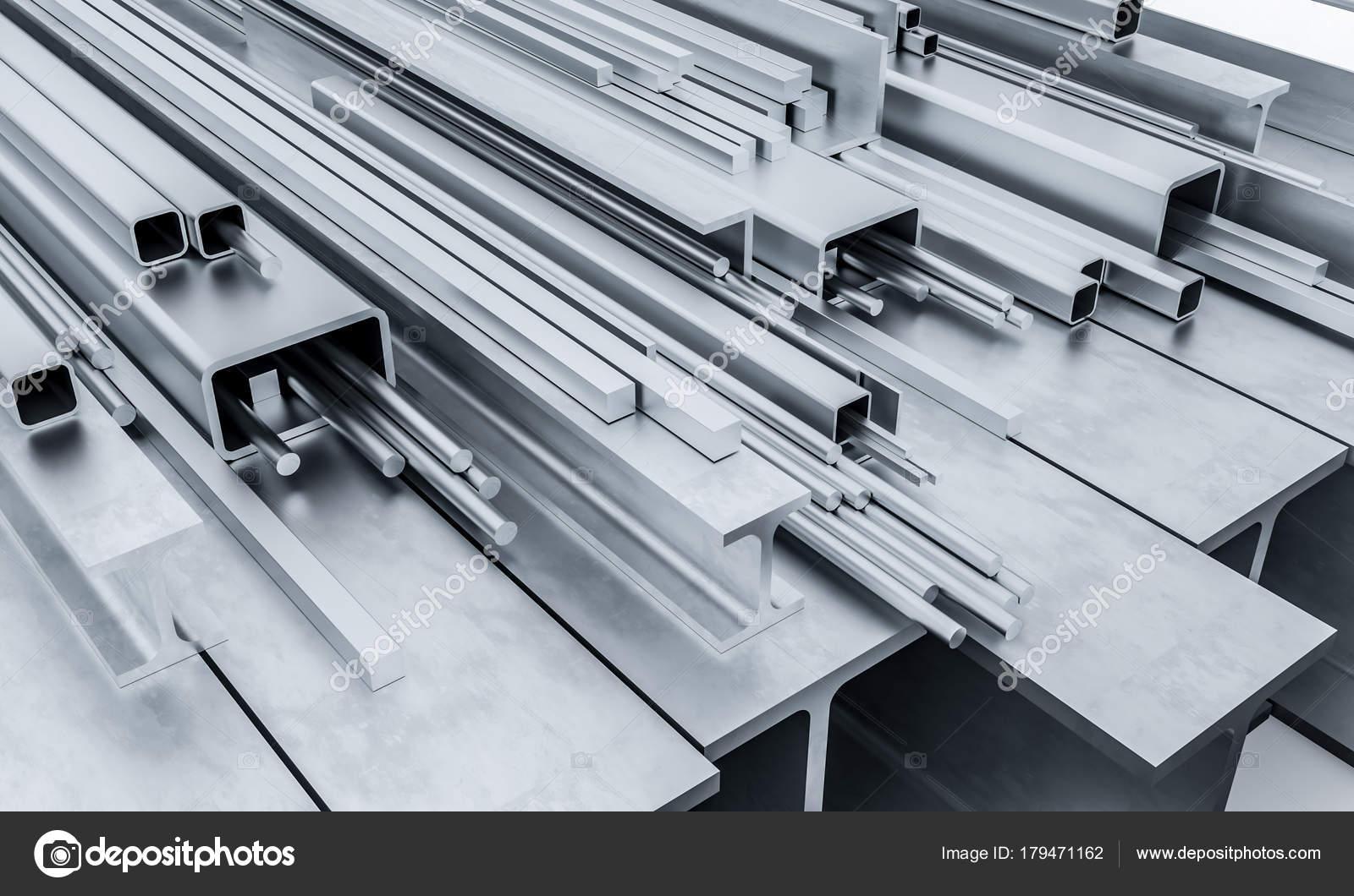steel metal beam 3d — Stock Photo © jukai5 #179471162