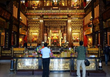 Interior View of the Fu-An Temple
