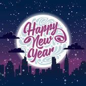 Šťastný nový rok. Svátečními pozdravy