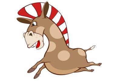 Cute Pony. Cartoon Character