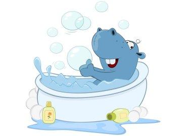 Cute Little Hippo