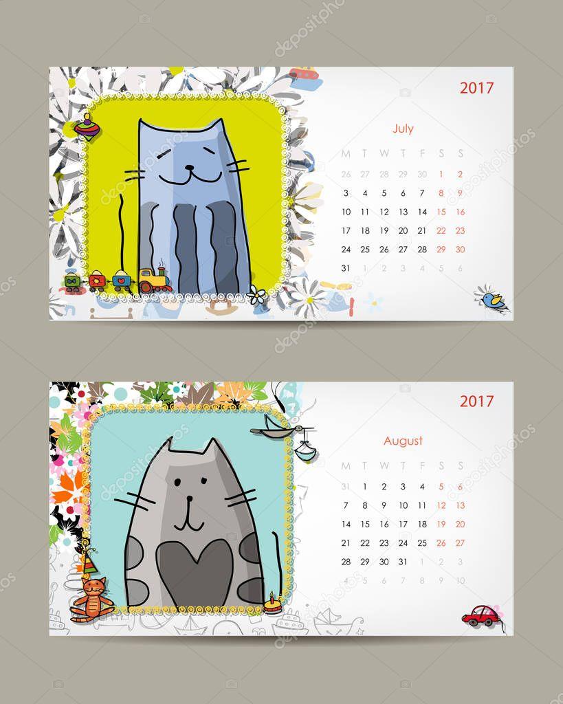 Atemberaubend Monatliche Planung Kalendervorlage Fotos - Entry Level ...
