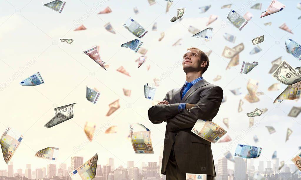 I am rich man . Mixed media ⬇ Stock Photo, Image by © SergeyNivens  #129625016