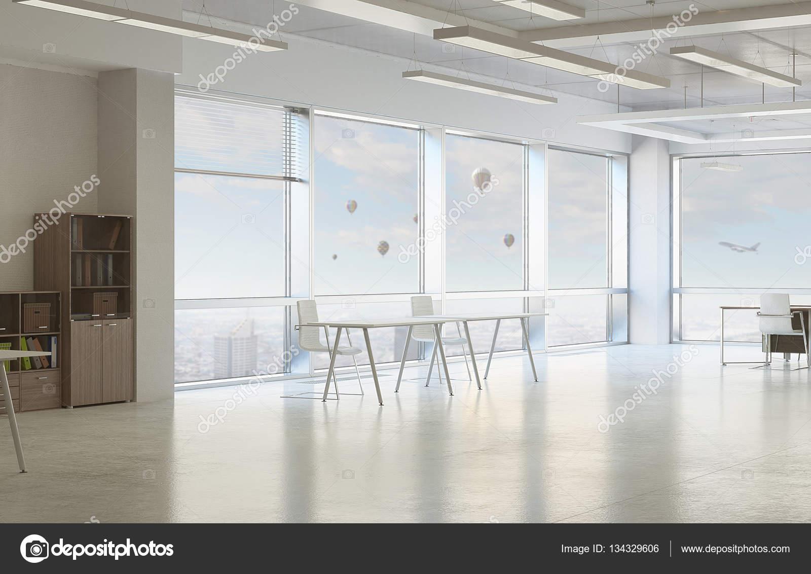Moderne Bürogestaltung. Mixed-media — Stockfoto © SergeyNivens ...