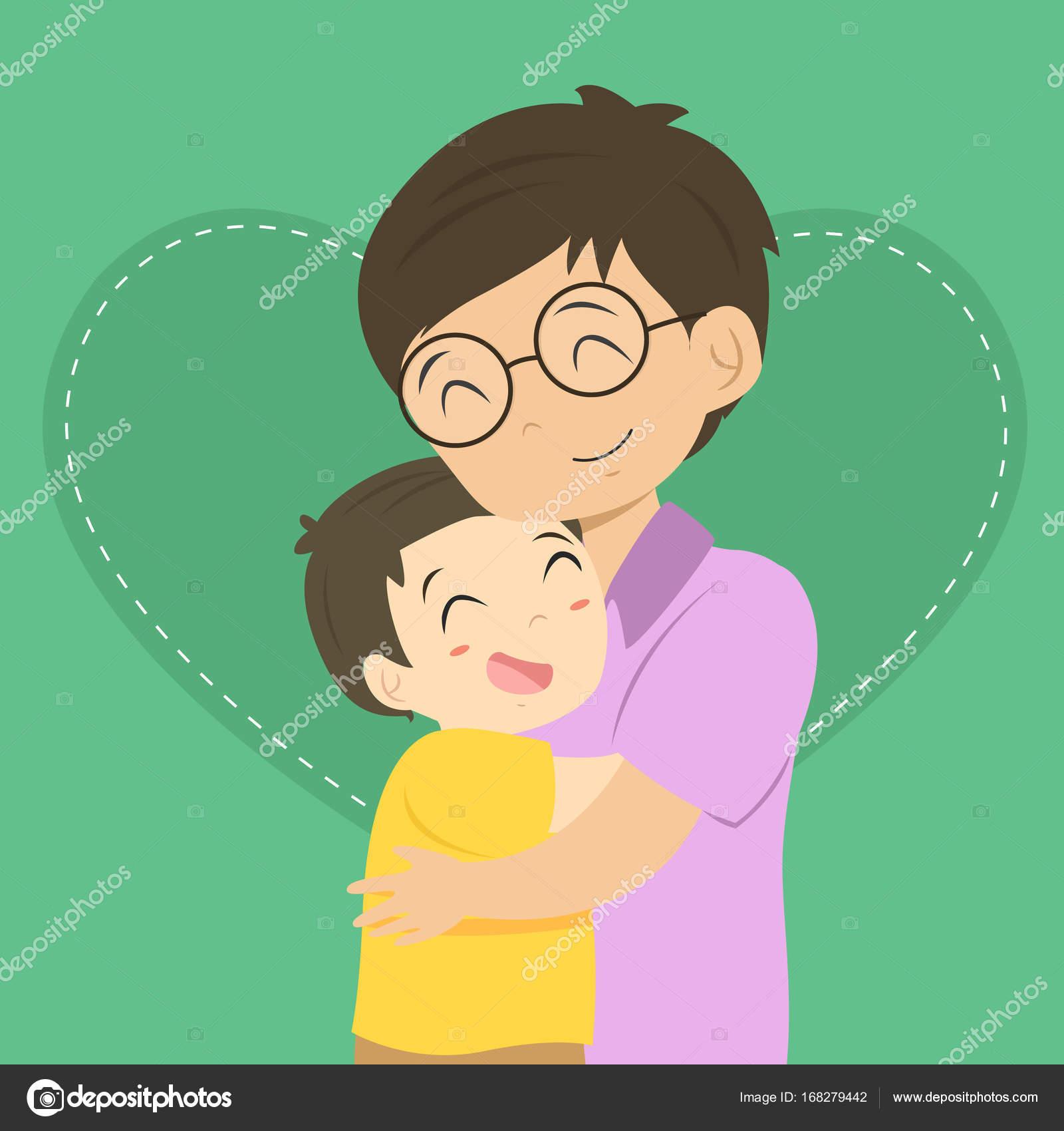 Resultado de imagen para abrazando abrazos dibujos animados