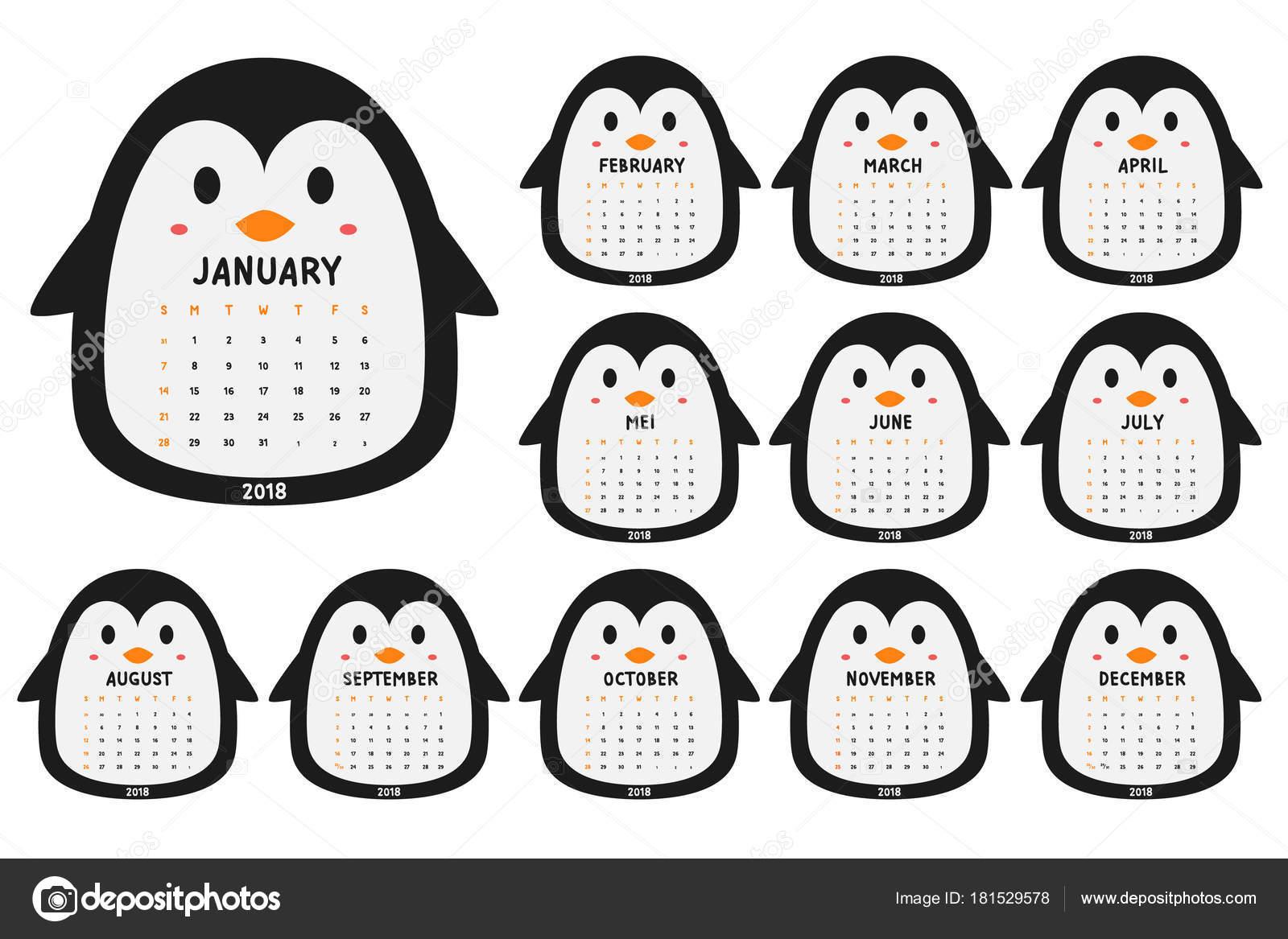 penguin pattern printable