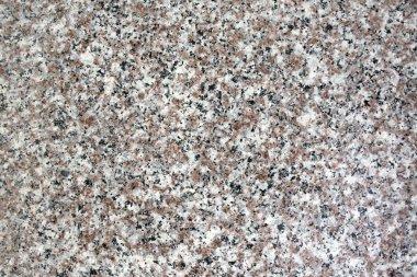 Texture of granite of gray color