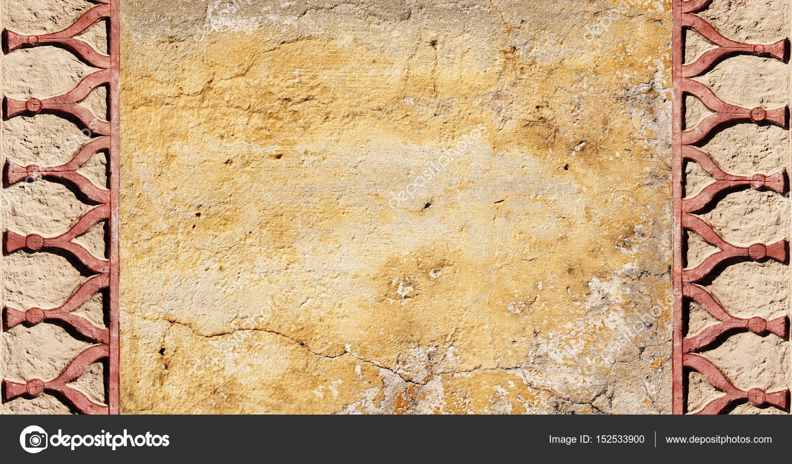 Grunge Hintergrund mit alten Stuck Wand Textur — Stockfoto © frenta ...
