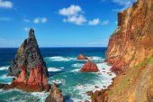 Photo Landscape of Ponta de Sao Lourenco on the Eastern coast of Madeira island, Portugal