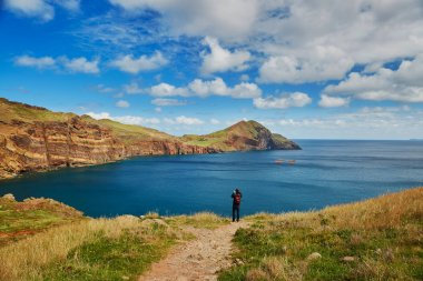 Landscape of Ponta de Sao Lourenco on the Eastern coast of Madeira island, Portugal