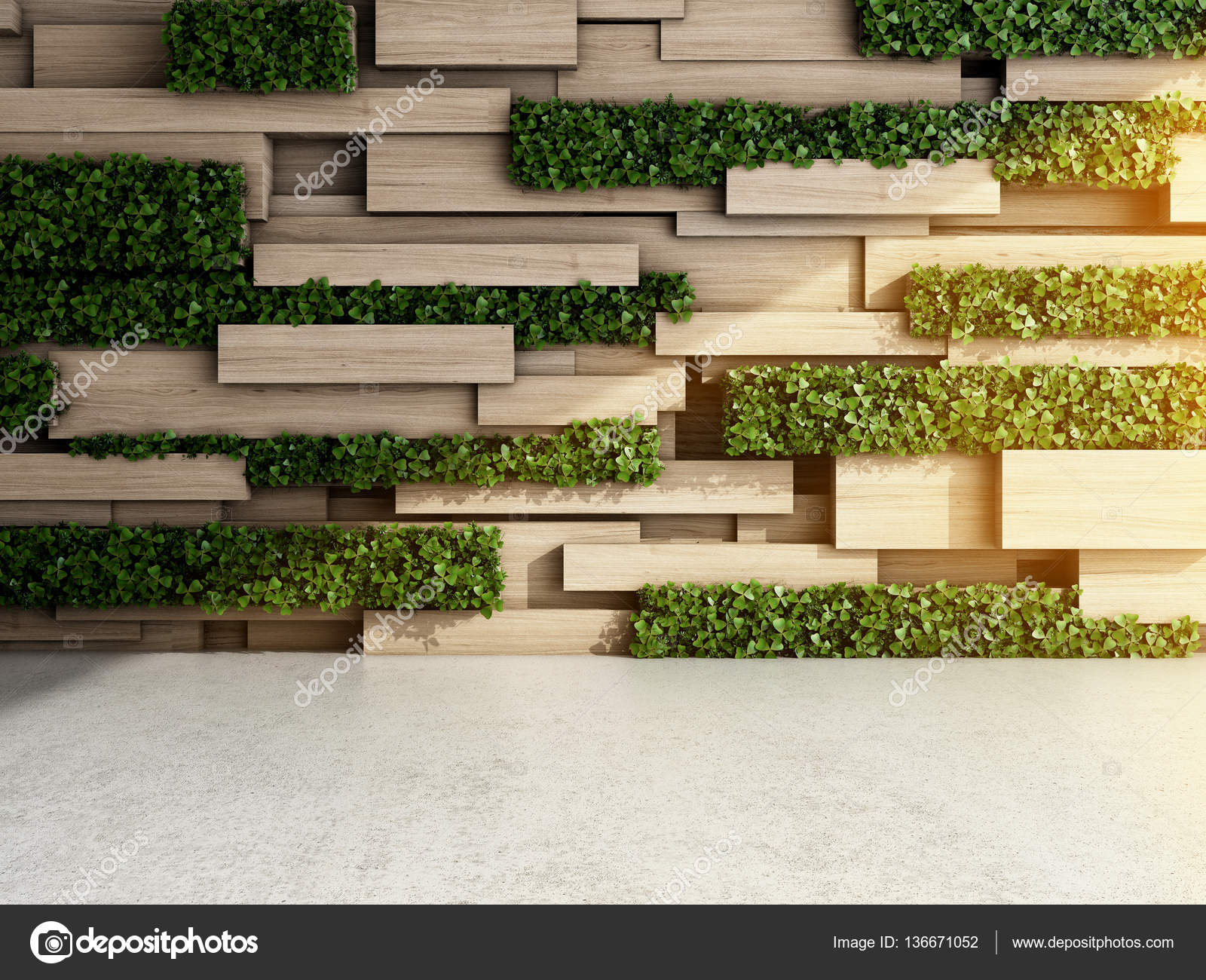 Wall in modern interior u stock photo shenki