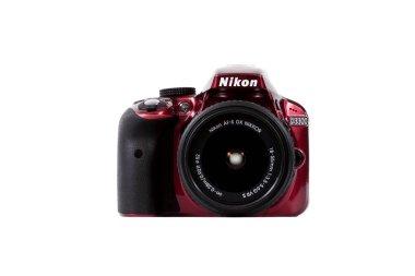 Nikon DSLR D3300 kit 18-55 VR red