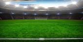 foci stadion a fényes fényekkel