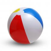 Plážový míč na bílé