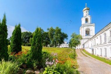 St. George (Yuriev) Orthodox Male Monastery in Veliky Novgorod,