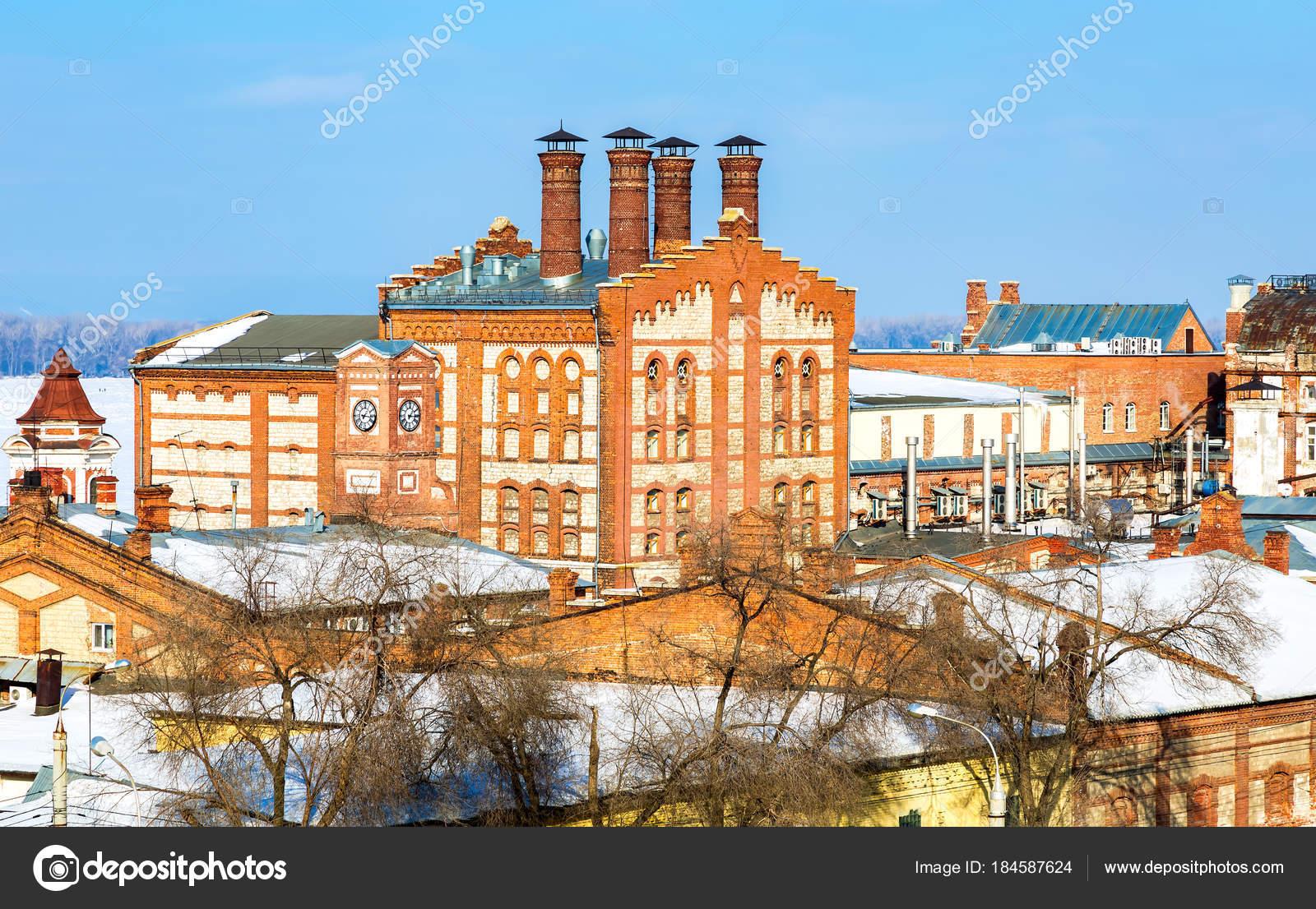 サマーラ, ロシアで晴れた冬の日...
