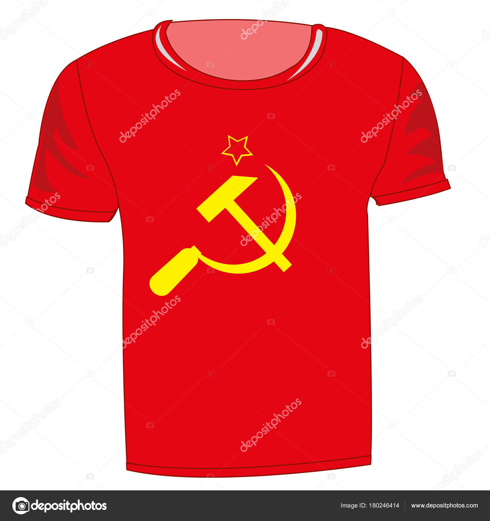 T shirt with symbol communism stock vector cobol1964 180246414 t shirt with symbol communism stock vector 180246414 biocorpaavc