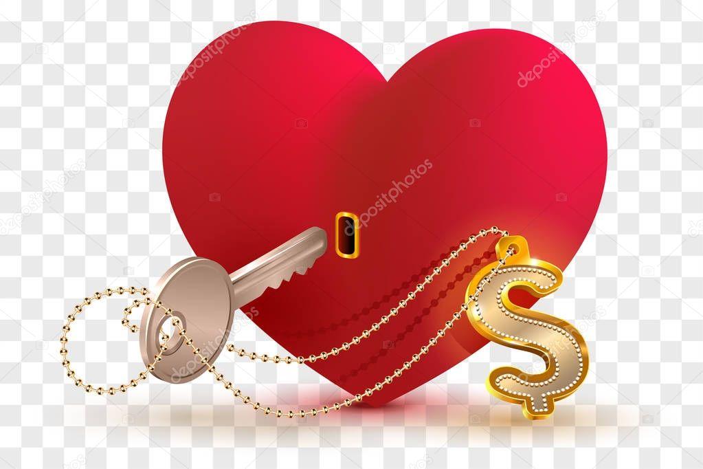 Сердце с ключом открытки, для брата сестры
