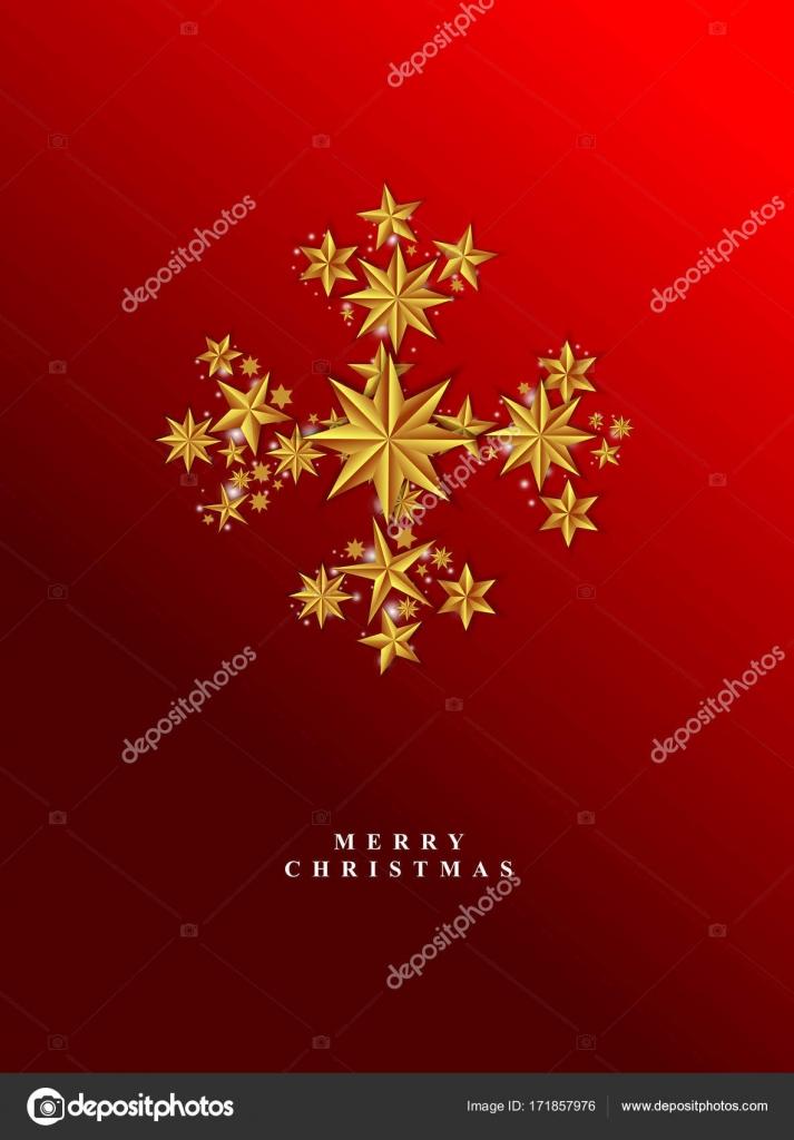 Vektor Weihnachtskarte Vorlage Weihnachtskarte Mit Schneeflocke Her