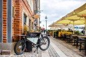 Nyhavn restaurace ulice