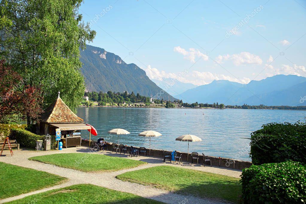 Geneva lake, Switzerland