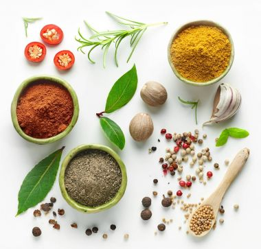 Various herb and spices