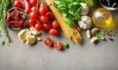 Photo healthy food ingredients
