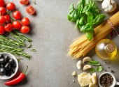 Fotografie zdravých potravin