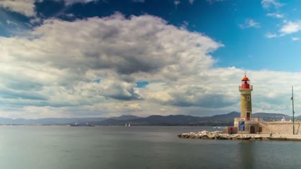 Világítótorony és a bejáratnál, hogy a port, 4k időzített