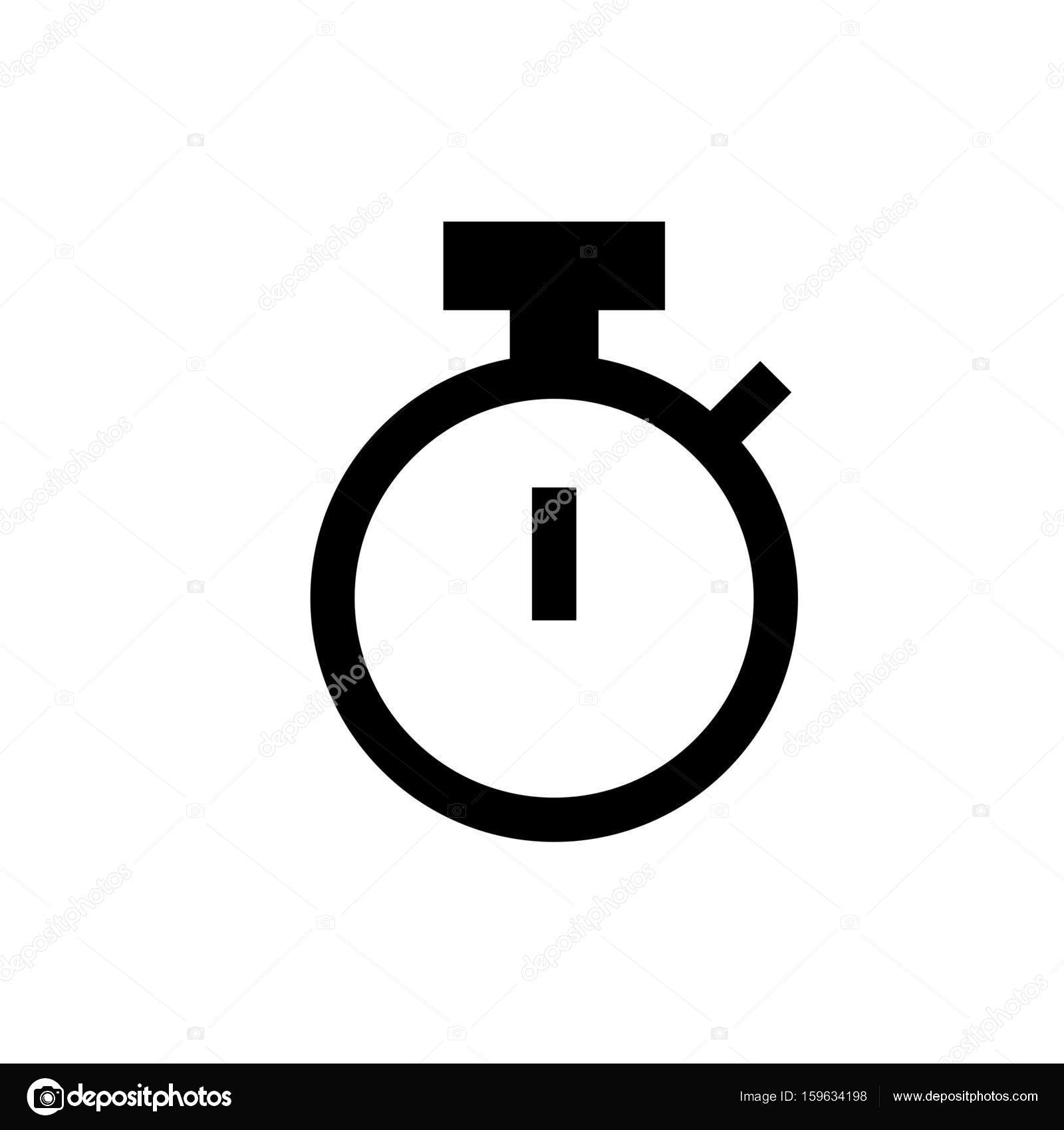 a142c165f43 Ícone de cronômetro simples — Vetor de Stock © get4net  159634198