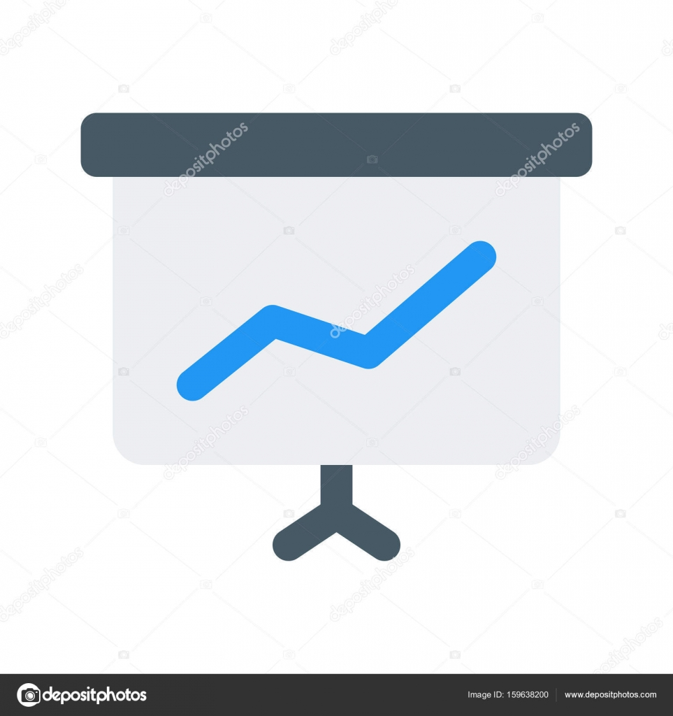 Verkaufspräsentation-Symbol — Stockvektor © get4net #159638200