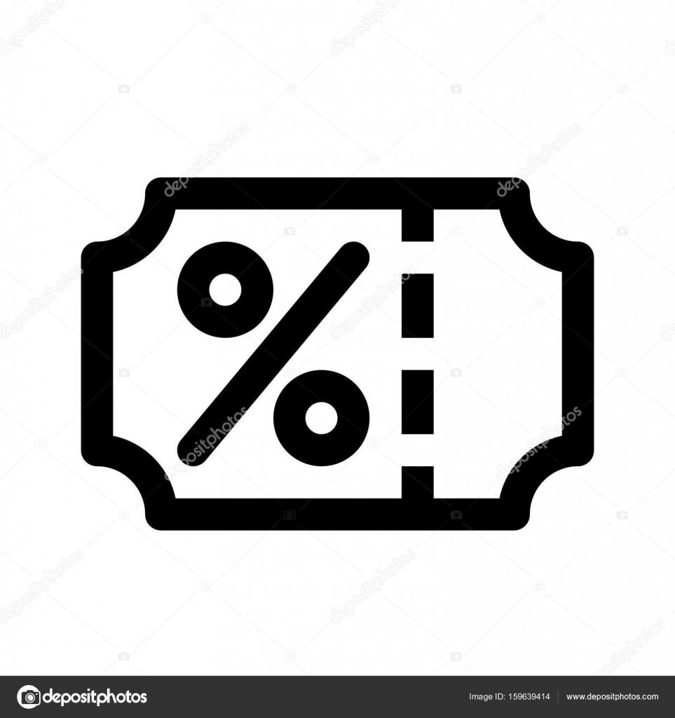 icona web sconto — Vector de stock © get4net #159639414