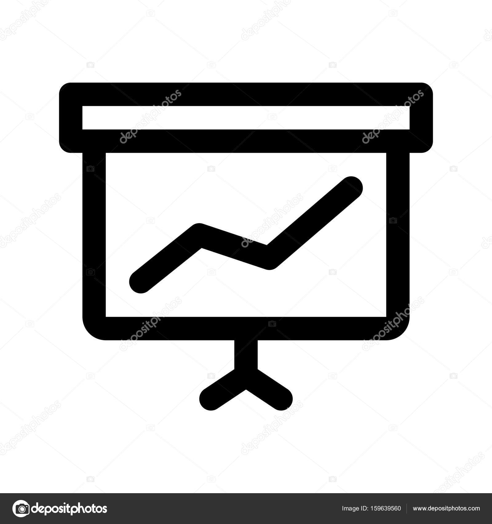 Verkaufspräsentation-Symbol — Stockvektor © get4net #159639560