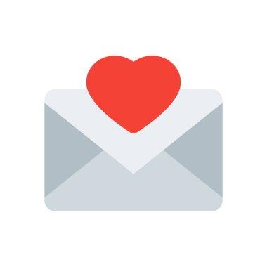 """Картина, постер, плакат, фотообои """"Иконка Письмо любви"""", артикул 159638380"""