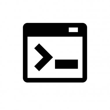 terminal simple icon