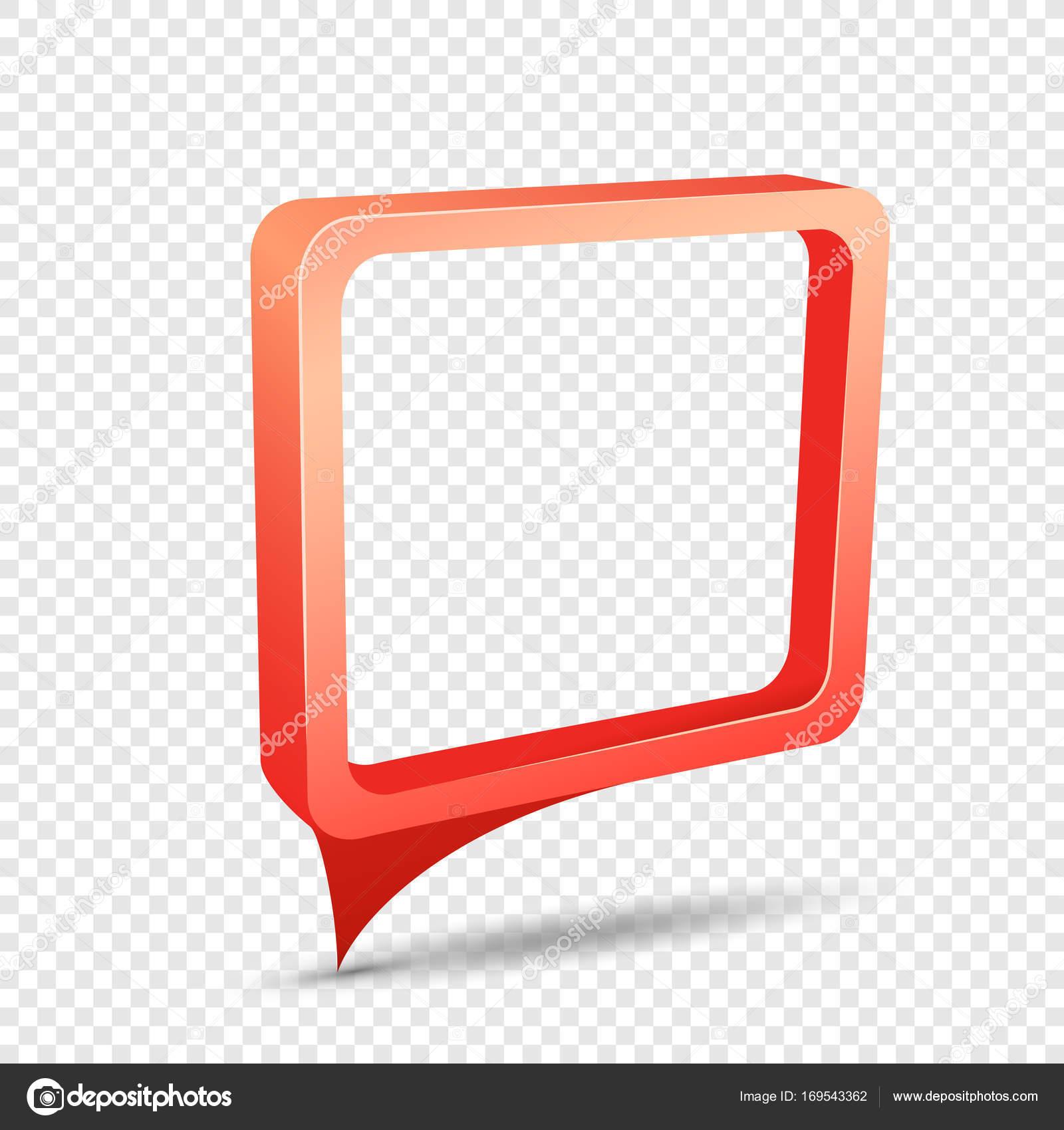 etiqueta engomada del descuento rectangular marco rojo — Vector de ...
