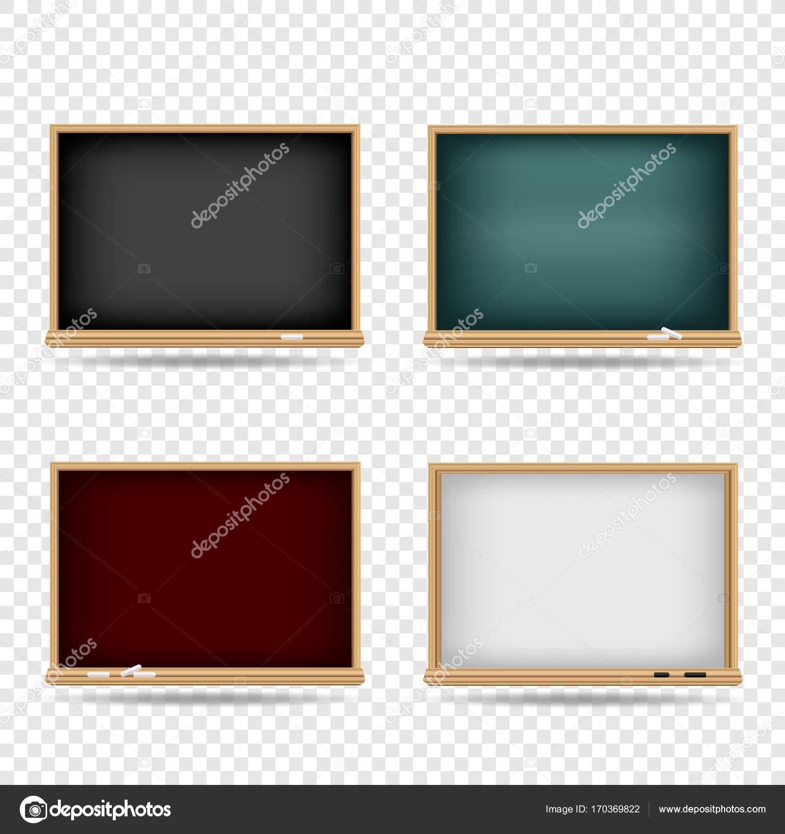 Blackboard Vorlage Schulset — Stockvektor © romvo79 #170369822